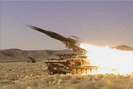 Iran's Shahab 2 missile