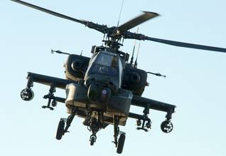 American Apache helicopter