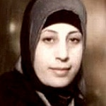 Hana Shalabi, one of the released Palestinian prisoners