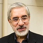 Arrested in 2009:Mir Hussein Mousavi