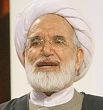 Arrested in 2009:Mehdi Karroubi