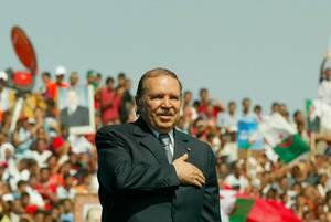 الجزائر الرئيس عبد العزيز بو تفليقة