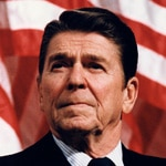 Ronald Reagan, US President 1981-1989