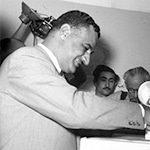 President Gamal Abdel Nasser of Egypt