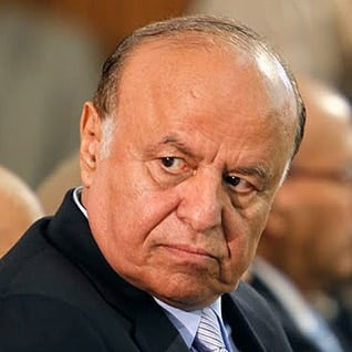 Abd Rabbuh Mansour Hadi, sole candidate and winner (by 65 percent) of the presidential elections on 21 February 2012