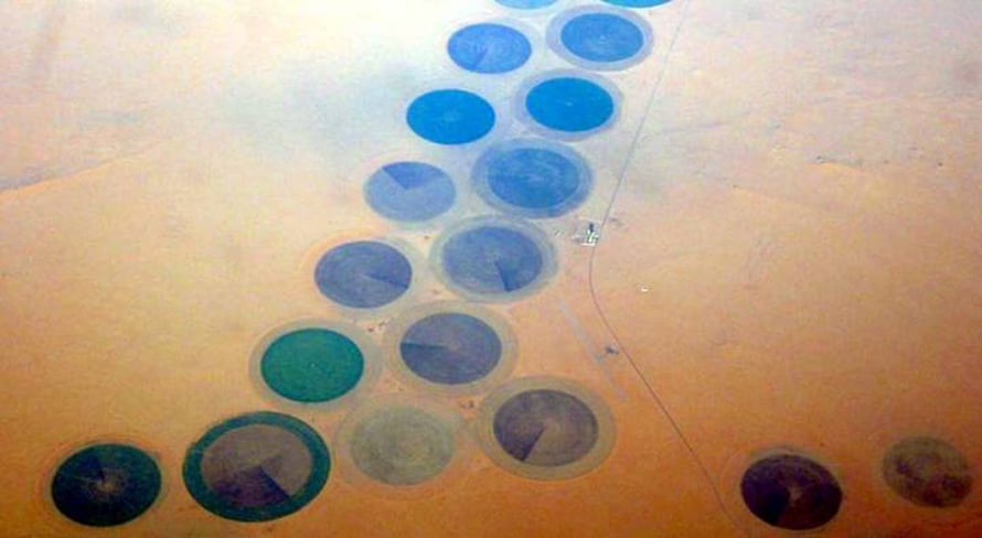 Libya Economy - Irrigation Agriculture