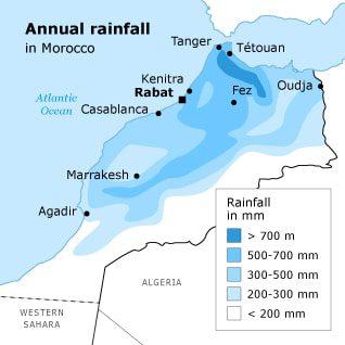 rainfall morocco