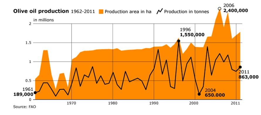 Economy Tunisia - Agriculture Olive Oil