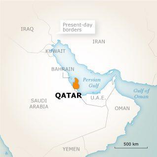 قطر جغرافيا