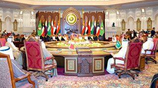 Qatar is member of the GCC (photo 29th summit in Oman)