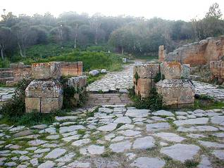 Ruins of Roman Chella, near Rabat / Photo Fanack