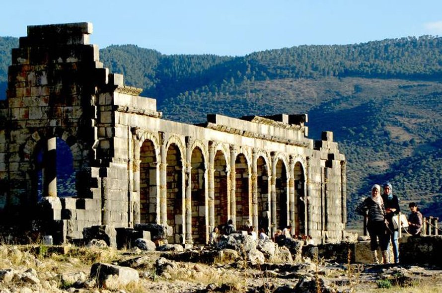 Volubilis, Roman city / Photo Fanack