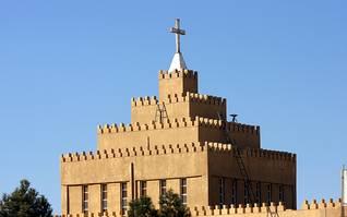 كنيسة آشورية في أربيل، كردستان العراق Photo Shutterstock