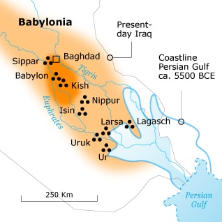 Babylonia Map