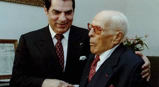 Bourguiba and Ben Ali