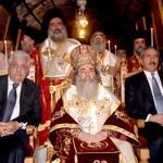 الرئيس عباس خلال احتفالات عيد الميلاد / Photo HH