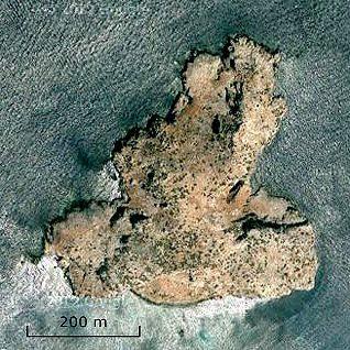 جزيرة ليلى المصدر: خرائط جوجل
