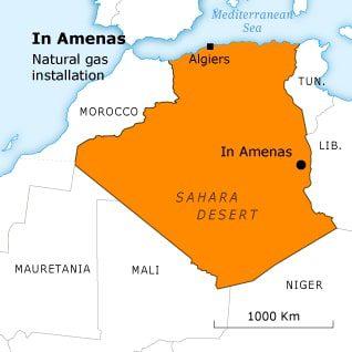 غاز الجزائر ان اميناس