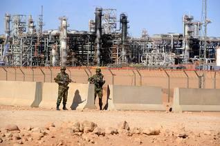 محطة الغاز الطبيعي في إن أميناس / Photo HH
