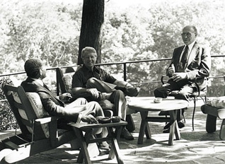 Anwar Sadat, Jimmy Carter and Menachem Begin at Camp David october war 1973 oslo accords