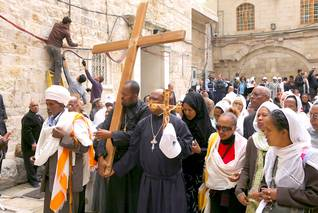 Easter in Jerusalem on Good Friday / Photo HH