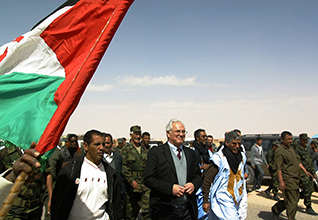 Christopher Ross visits the Polisario camps