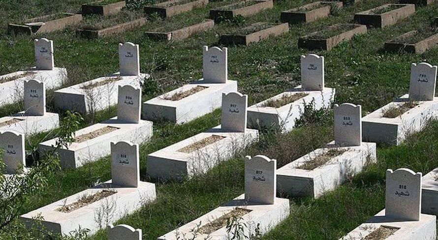 قبور ضحايا مجهولين في الحرب الأهلية في التسعينات الحرب الأهلية
