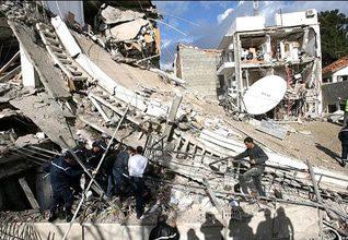 الحرب الأهلية مكتب الأمم المتحدة في مدينة الجزائر عام 2007
