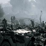 المقر الرئيسي للقوات الأمريكية في بيروت بعد تدميره