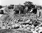 Destroyed Arab village in 1948