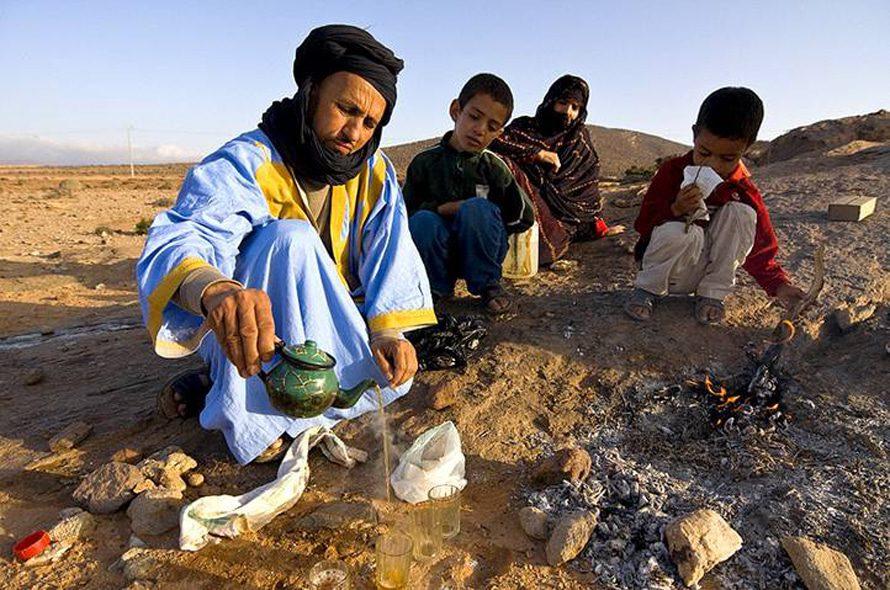 أسرة من الصحراء الغربية / Photo HH