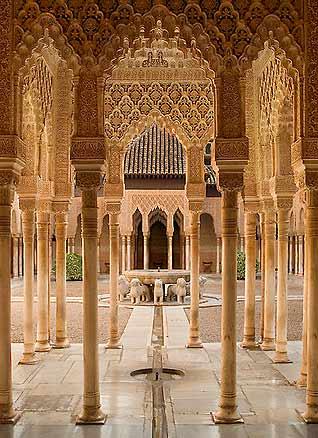 قصر الحمراء في غرناطة، أسبانيا