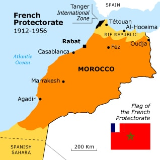French Protectorate morocco