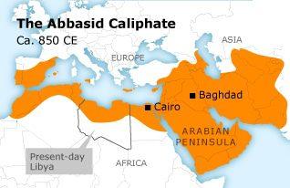The Abbasid Caliphate Ca. 850 CE (Libya)