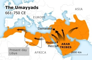 The Umayyads 661-750 CE (Libya)
