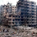الدمار بعد قصف عام 2006