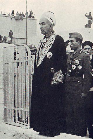 Emir Abdullah in 1937