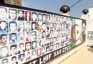 الجزائر اعمال عنف ضحايا