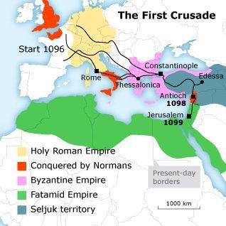 الحملة الصليبية الاولى