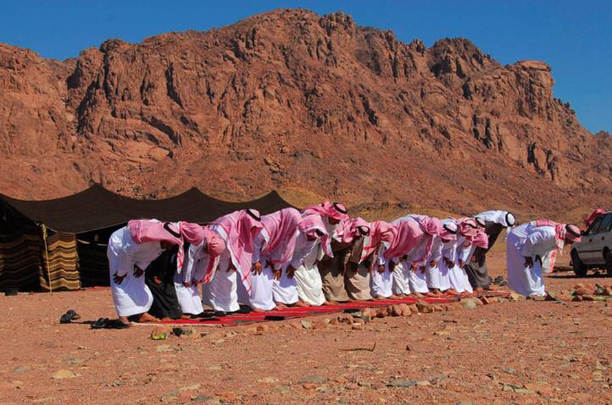 Praying Bedouins