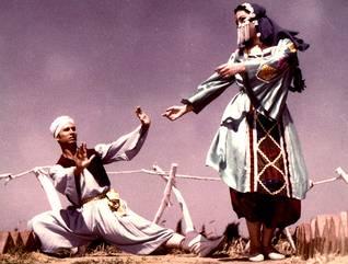 محمود رضا وفريدة فهمي