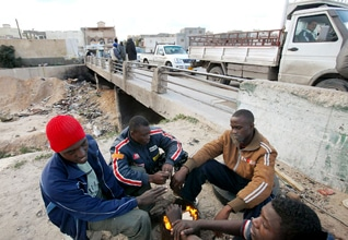 Blacks Libya