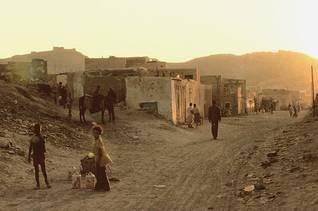 Marrakesh slum