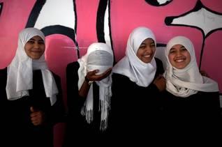 Libya students