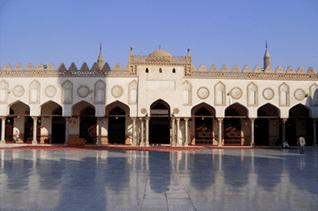 al-Azhar Mosque in the new Fatimid capital of Cairo.