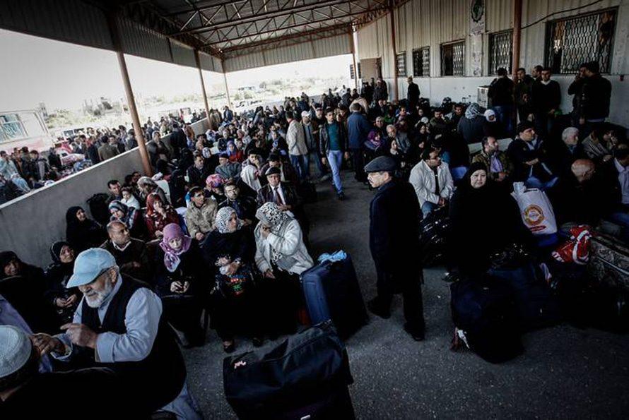 آثار حصار غزة