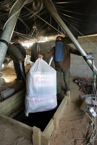 gaza and the tunnels