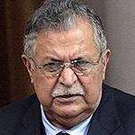 رئيس العراق جلال طالباني (حزب الاتحاد الوطني الكردستاني)