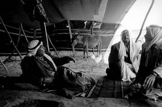 Bedouins living in tents in the Negev, photographed in 1967 Photo Magnum/HH