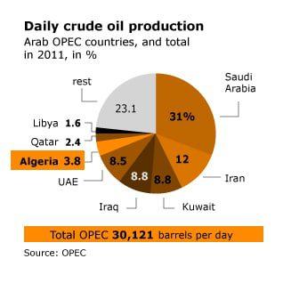 Economy Algeria - Oil